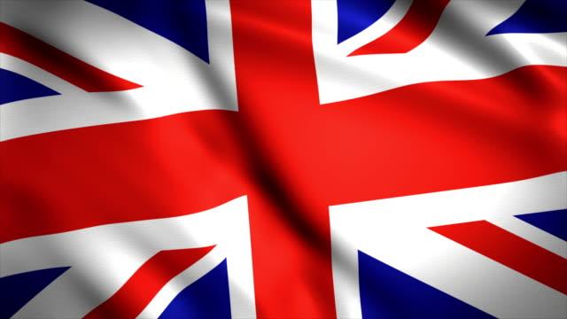 Highly Detailed United Kingdom Flag background 4K